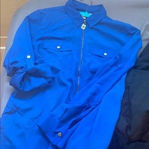 Michael kors over shirt / zip up